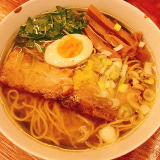 和風柚子柳麺(麺屋 ひょっとこ )