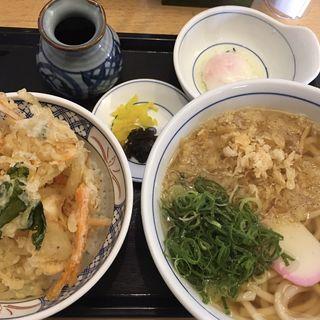 かき揚げ丼セット(ウエスト大川店)