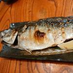 金華サバ塩焼き