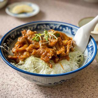 焼肉丼大盛り(竹葉軒 (チクヨウケン))