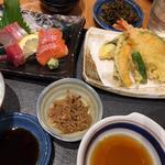 天ぷら刺身定食(SOLAE DINING 海鮮 七菜彩)