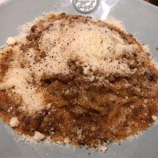 ミートカルボナーラ(Italian kitchen VANSAN 祖師谷大蔵店)