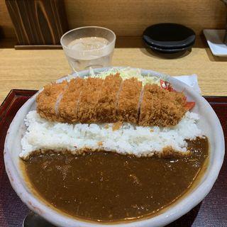 かつカレー(とんかつ 鉄 (とんかつ kurogane))