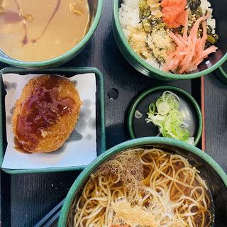 ミニ高菜ごはセット(ゆで太郎 本所吾妻橋店  )