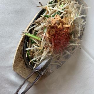 もやし野菜炒め(仙台クラシックゴルフ倶楽部)