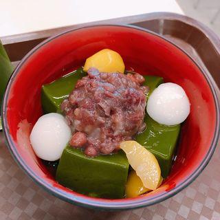 抹茶ゼリー(茶乃逢 二条城店 (さのあ))