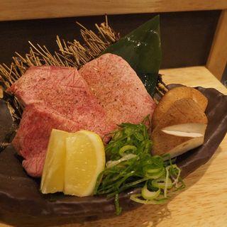 厚切り上塩タン(焼肉横山)