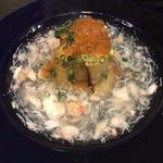 米茄子の蟹餡かけ(鮨割烹 羽月 (はねつき))