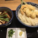 比内地鶏の贅沢つけ麺(釜たけうどん 八重洲北口店 )