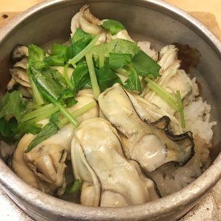 牡蠣の釜めし(鳥ぎん 砂町店 (とりぎん))