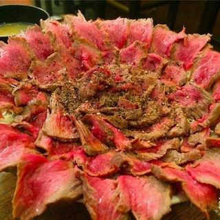 がぶ丼(ローストビーフ丼)(くいしんぼう がぶ )