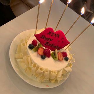 誕生日ケーキ(マディソン ニューヨーク キッチン (MADISONNEW YORK KITCHEN))