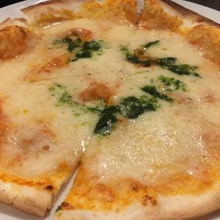 薄焼きピザランチ(マルゲリータ)(イタリア料理 アンジェロ)