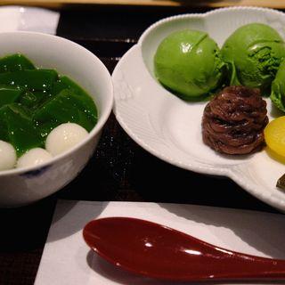 生茶ゼリー(中村藤吉京都駅店)
