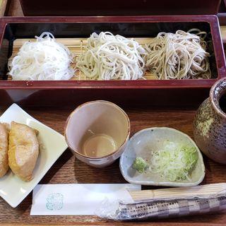 3種そば(蕎麦戯 さか本 (ソバギサカモト))