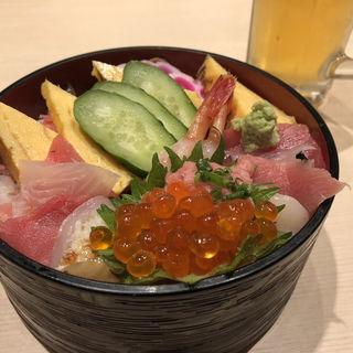上ちらし(うまい鮨勘 熱海支店)