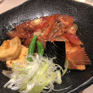 金目の兜煮(うまい鮨勘 熱海支店)