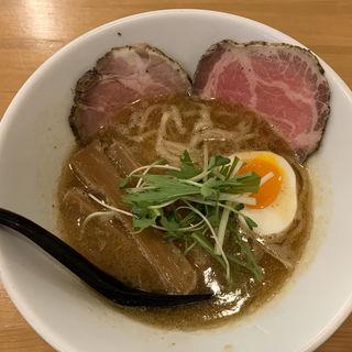 新中華そば(並)1玉(麺人 ばろむ庵 )