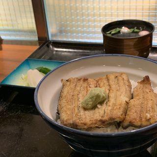ランチ白焼き丼(うなぎ徳 西麻布店 (【旧店名】八百徳))