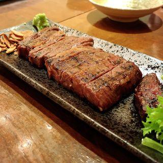 和牛肩ロースステーキ(なべや久吉 (キュウキチ))