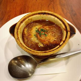 ロイヤルのオニオングラタンスープ(ロイヤルホスト 西川口店 )
