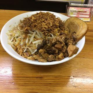 キーマカレーMAZEそば(麺屋ガテン なんば心斎橋 総本店 )