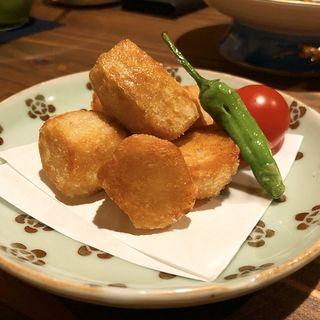 里芋の唐揚げ(kelp)