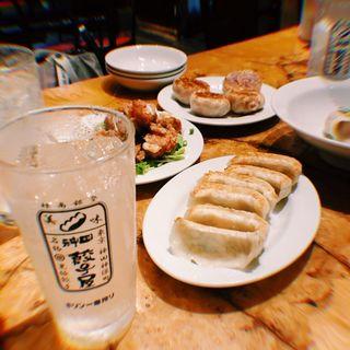 焼き餃子(神田餃子屋 本店 (カンダギョウザヤ))