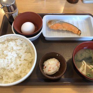 鮭定食(すき家 博多BP店 )