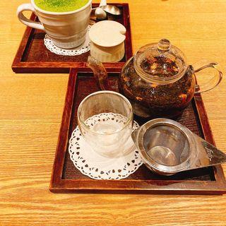 りんごとナツメの岡山和紅茶(カフェソラーレ tsumugi あざみ野)
