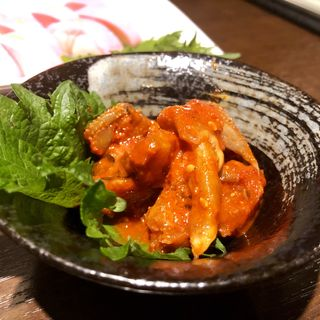 チャンジャ(鉄板居食屋 進)