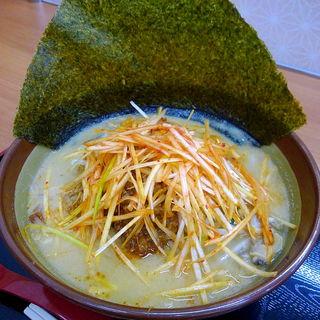 江戸前味噌肉ネギらーめん(麺場 田所商店 鶴巣PA(下り)店)
