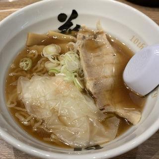 小盛 海老ワンタンメン(酒田ラーメン 花鳥風月)