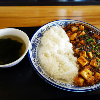 麻婆豆腐丼(香港プラザ 高砂店)
