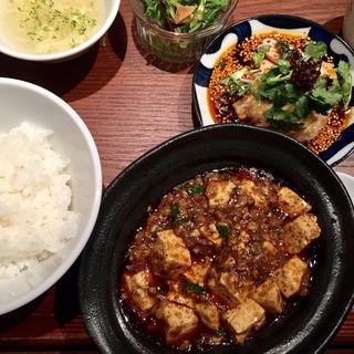 麻婆豆腐ランチ(中華旬彩森本)