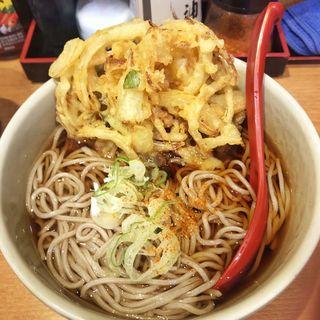 かき揚げ天蕎麦(越後そば 東陽町店 )