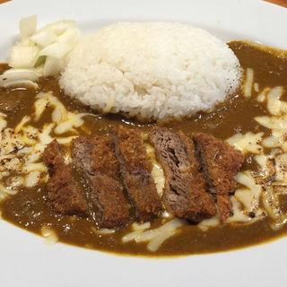 牛カツカレー(さぼてん食堂 )