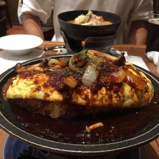 デ焼きオムドリア きのこ風味のミグラスソース(横濱元町ドリア)
