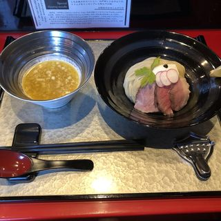 特製つけ麺(銀座 魄瑛)