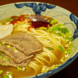 蘭州牛肉拉麺(細麺)(中華蘭州牛肉拉麺)