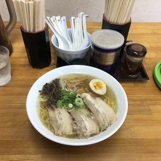 いりこラーメン(瀬戸内ラーメン 大島 (せとうちらーめん おおしま))