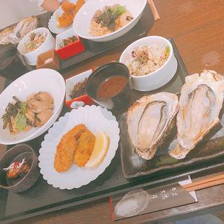 牡蠣屋定食(牡蠣屋)