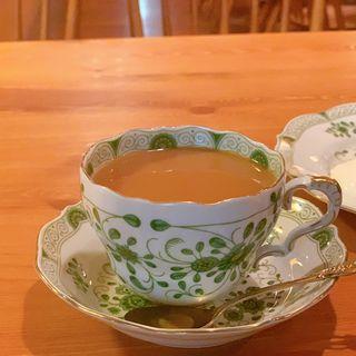 コーヒーケーキセット( 炭火焙煎珈琲・凛)
