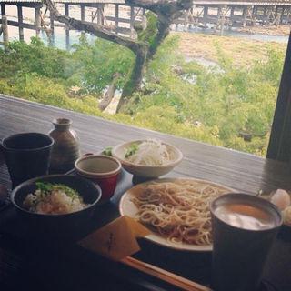 そばランチ(嵐山よしむら)