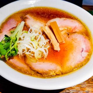 醤油煮干チャーシュー麺