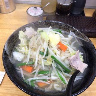 タンメン 野菜増し 小ライス(タンメンしゃきしゃき 新橋店 )