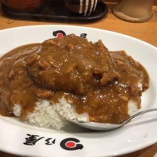 メンチカツカレー(日乃屋カレー 浅草橋店)