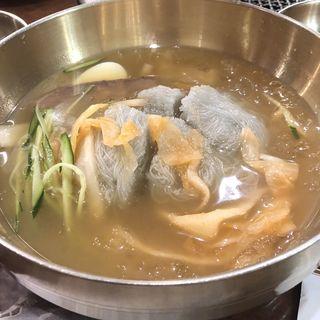 冷麺(チョンソル )