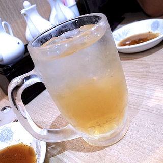 自家製 梅酒サワー(餃子は一龍 町屋店 )
