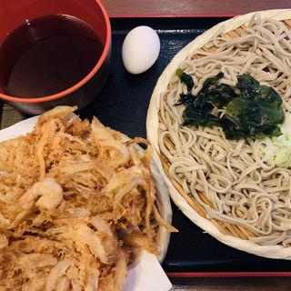 天ざる(冷のみ)(蕎麦 さだはる 西新橋店 (【旧店名】蕎麦 まえだ))